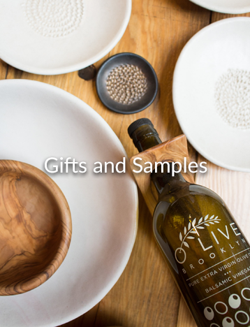 gifts and samples